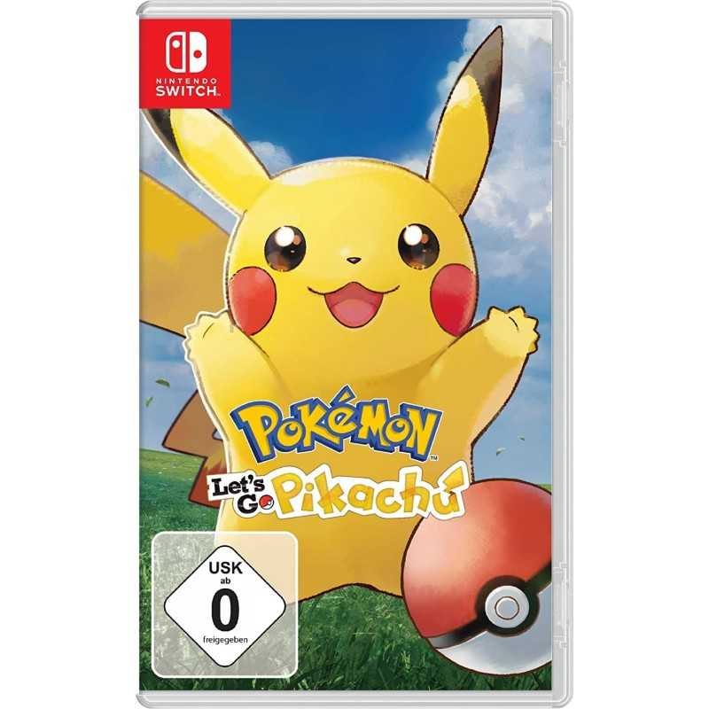 Pokémon Let's Go Pikachu Nintendo Switch - Jeux Switch - gamezone