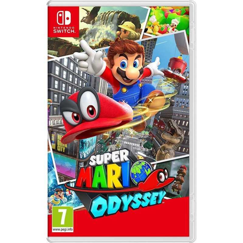 Super Mario Odyssey Nintendo Switch - Jeux Switch - gamezone