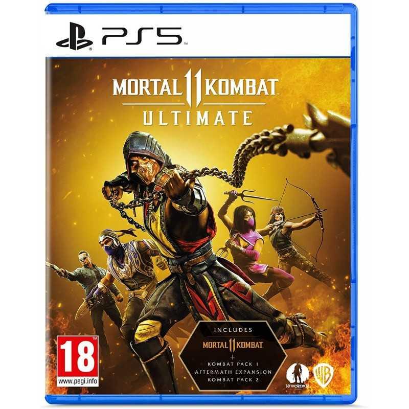 Mortal Kombat 11 Ultimate PS5 - JEUX PS5 - gamezone