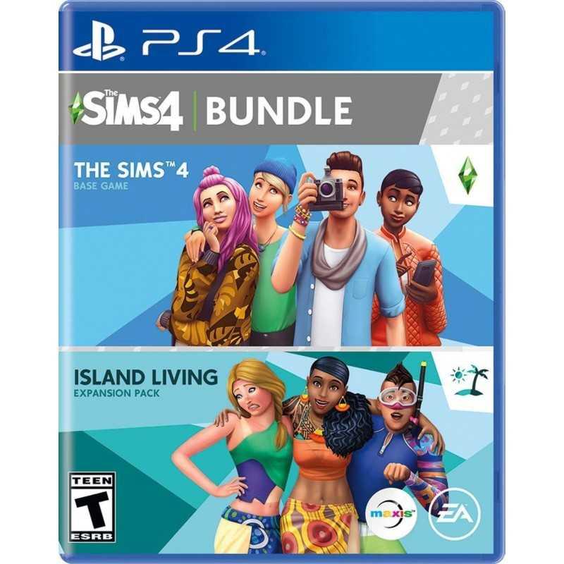 The Sims 4 Plus Island Living Bundle - PS4 - JEUX PS4 - gamezone