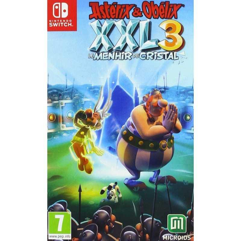Astérix et Obélix XXL 3 Le Menhir de Cristal Nintendo Switch - Jeux Switch - gamezone