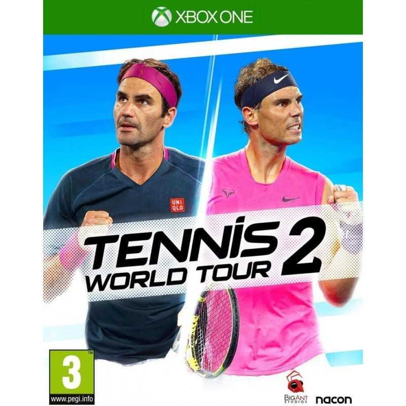 Tennis World Tour 2 (Xbox Series X et Xbox One) - JEUX XBOX - gamezone