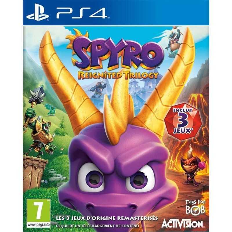 Spyro Reignited Trilogy PS4 - JEUX PS4 - gamezone
