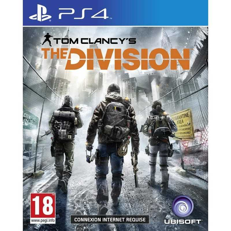 Tom Clancy's The Division PlayStation 4 - JEUX PS4 - gamezone
