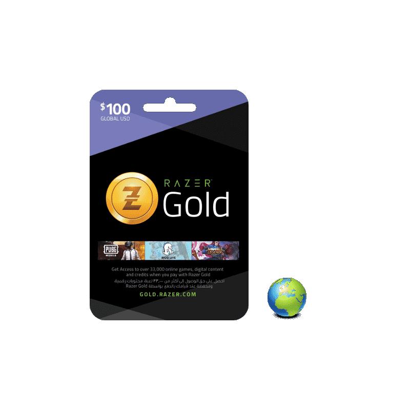 Razer Gold USD 100$ - Gift Cards - gamezone