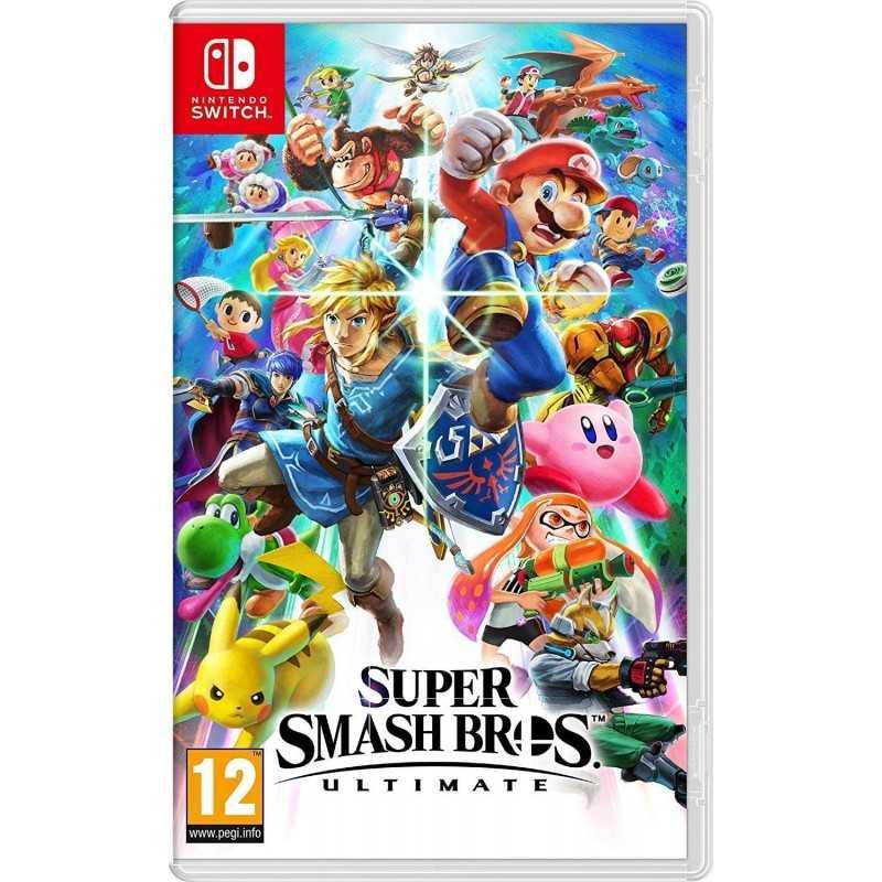 Super Smash Bros Ultimate Nintendo Switch - Jeux Switch - gamezone