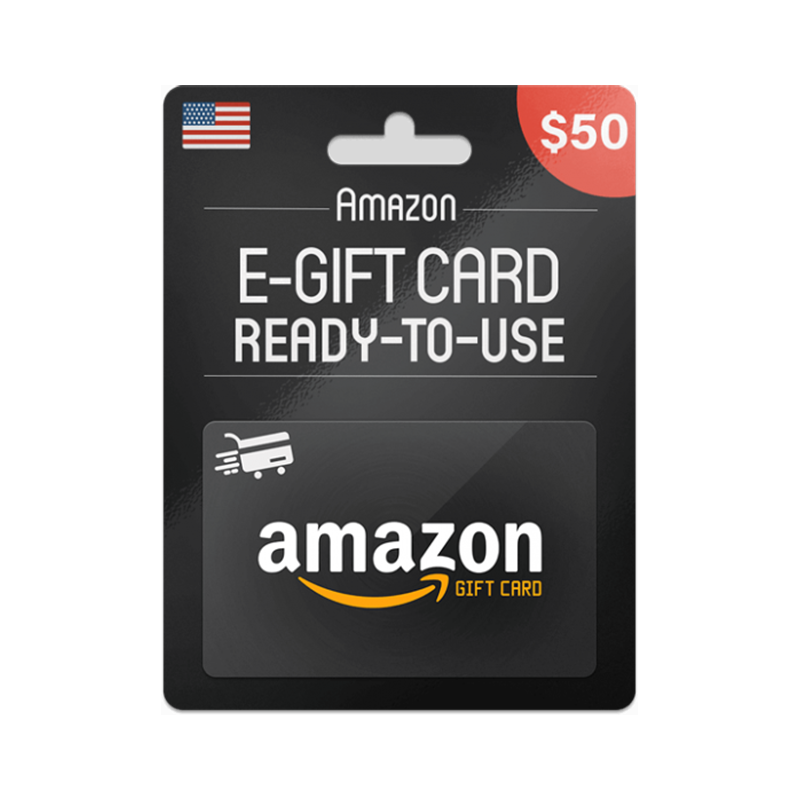 Amazon Gift Card USA USD 50 - Gift Cards - gamezone