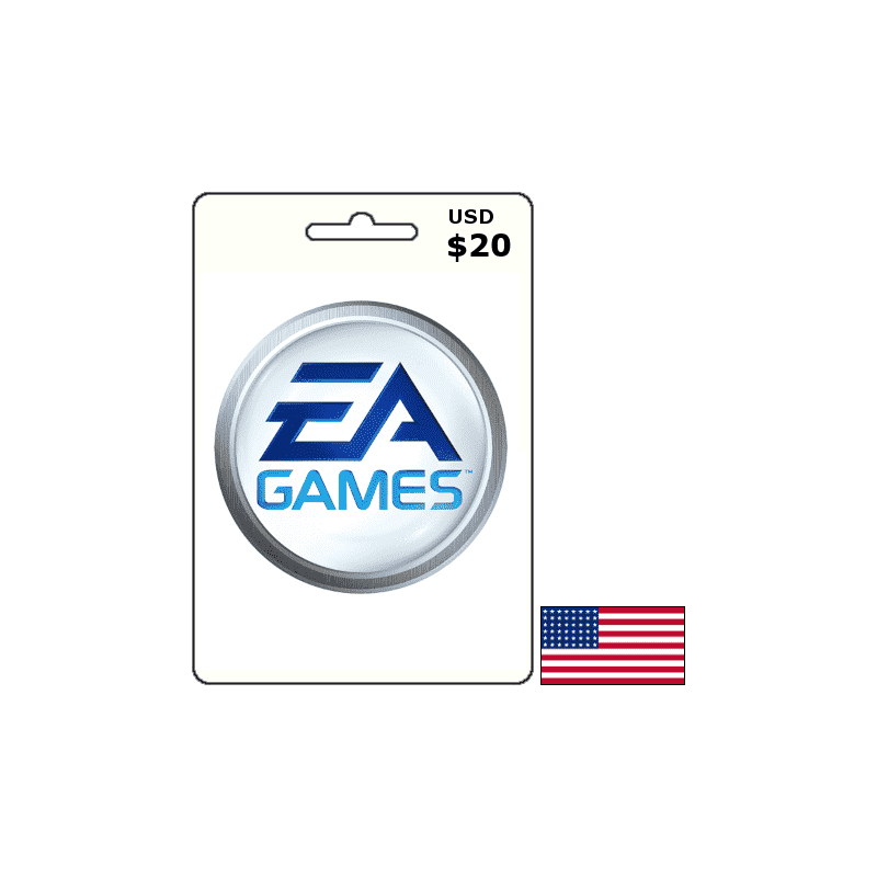 EA Games USA USD 20 Card - Gift Cards - gamezone
