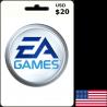EA Games USA USD 20 Card en Tunisie