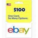 eBay Gift Card US $100 en Tunisie