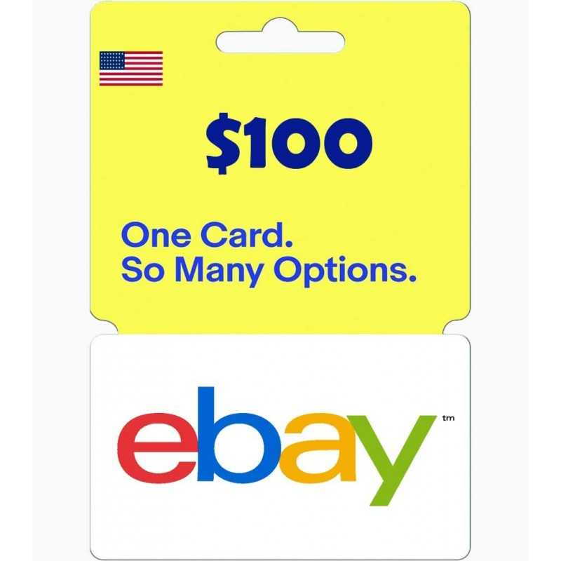eBay Gift Card US $100 - Gift Cards - gamezone