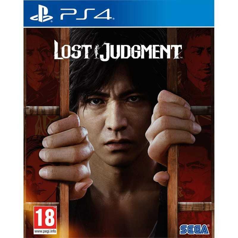 Lost Judgment PS4 - JEUX PS4 - gamezone