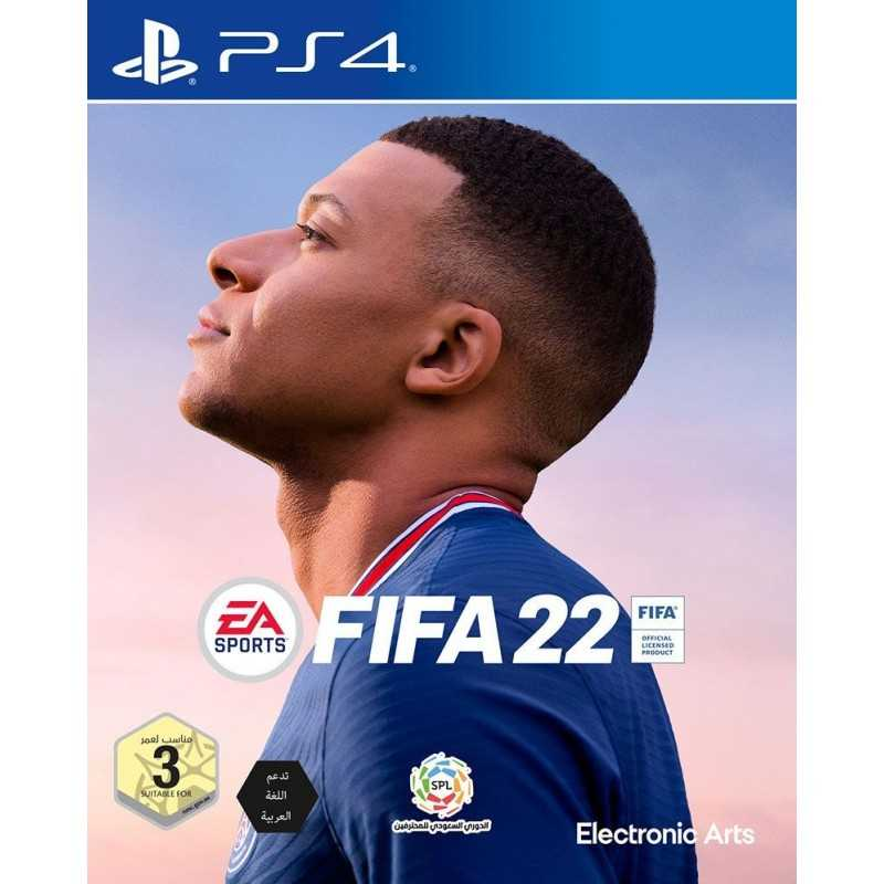 FIFA 22 PS4 حصري بالتعليق العربي - JEUX PS4 - gamezone