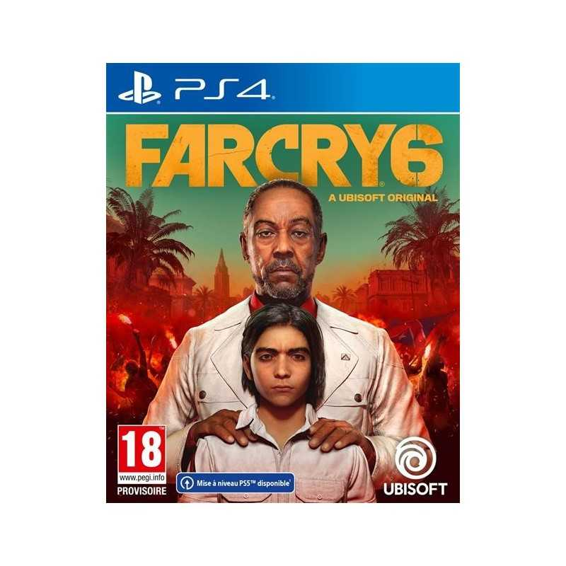 Far Cry 6 PS4 (Anglais / Arabe ) - JEUX PS4 - gamezone