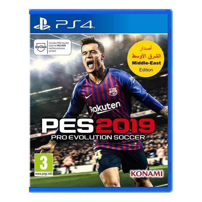 Pro Evolution Soccer 2019 Commentaire ARABE en Tunisie