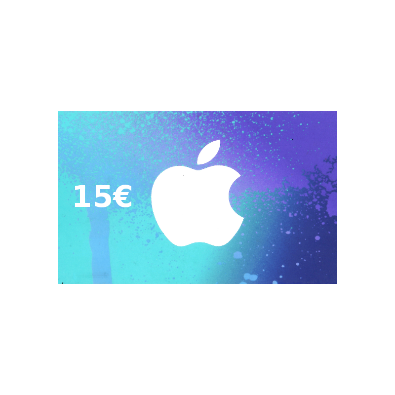 Carte App Store & iTunes de 15 € FR - Gift Cards - gamezone