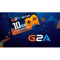 G2A Gift Card 10 EUR GLOBAL en Tunisie