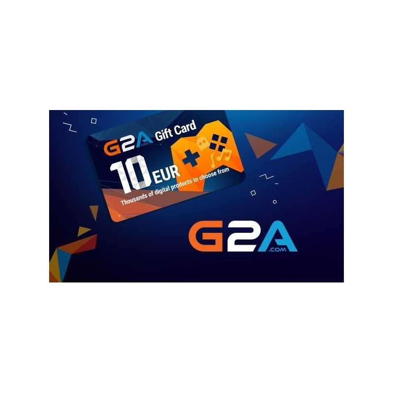 G2A Gift Card 10 EUR GLOBAL - Gift Cards - gamezone