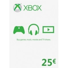 Carte Xbox 25€ (zone Euro) Gift Card en Tunisie
