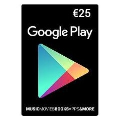 Carte cadeau Google Play 25 euros FR en Tunisie