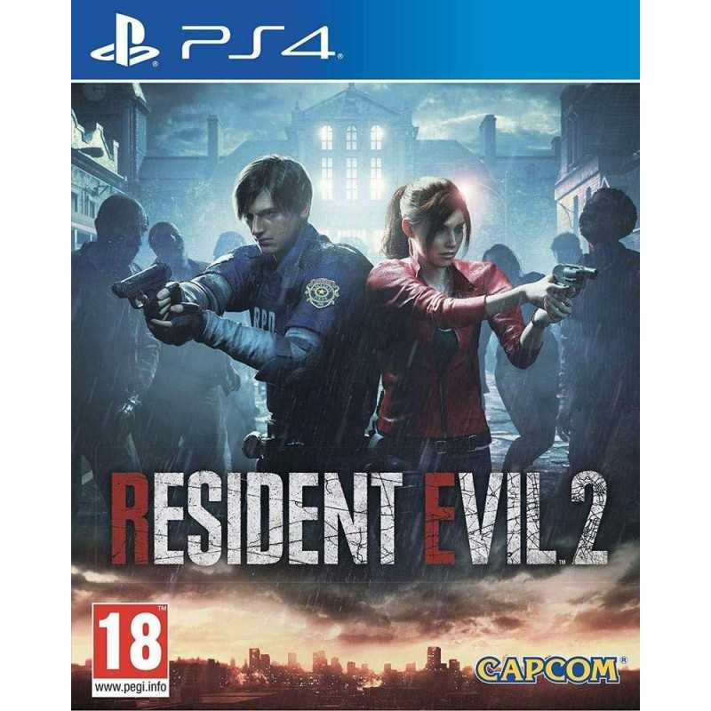 Resident Evil 2 Remake PlayStation 4 - JEUX PS4 - gamezone