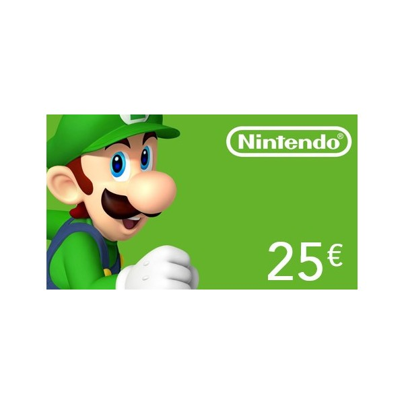 Carte Nintendo eShop 25€ - Gift Cards - gamezone