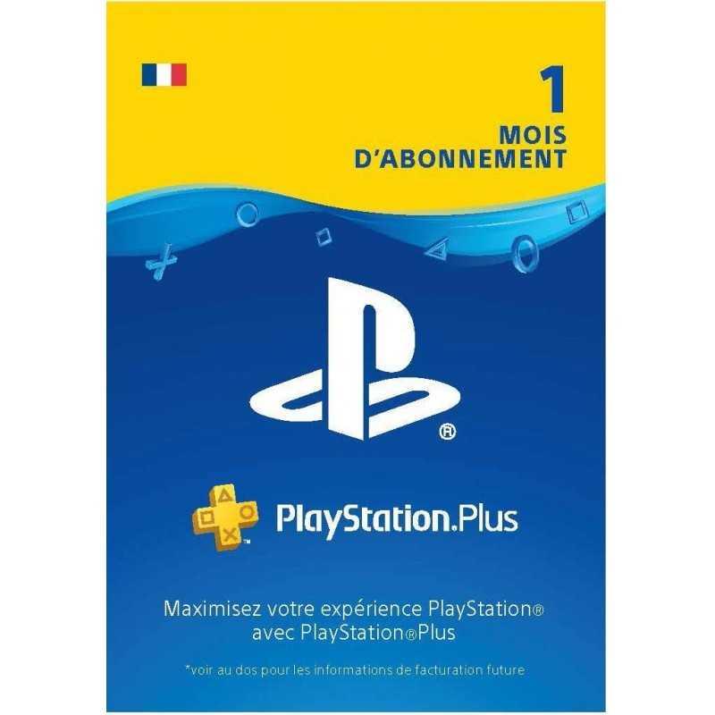 PlayStation Plus: abonnement de 1 mois Code Jeu PSN PS4 - Compte français en Tunisie