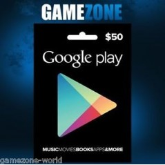 Carte cadeau Google Play $50 USA en Tunisie