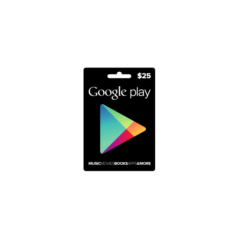 Carte cadeau Google Play $25 USA - Gift Cards - gamezone