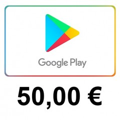 Carte cadeau Google Play 50 euros FR en Tunisie