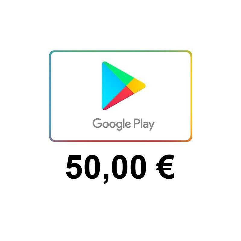 Carte cadeau Google Play 50 euros FR - Gift Cards - gamezone