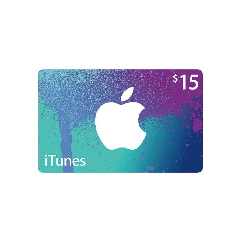 iTunes Gift Cards US 15$ - Gift Cards - gamezone