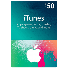 iTunes Gift Cards US 50$ en Tunisie
