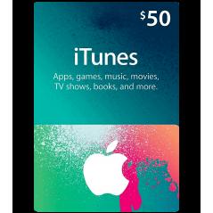 iTunes Gift Cards US 50$ en Tunisie