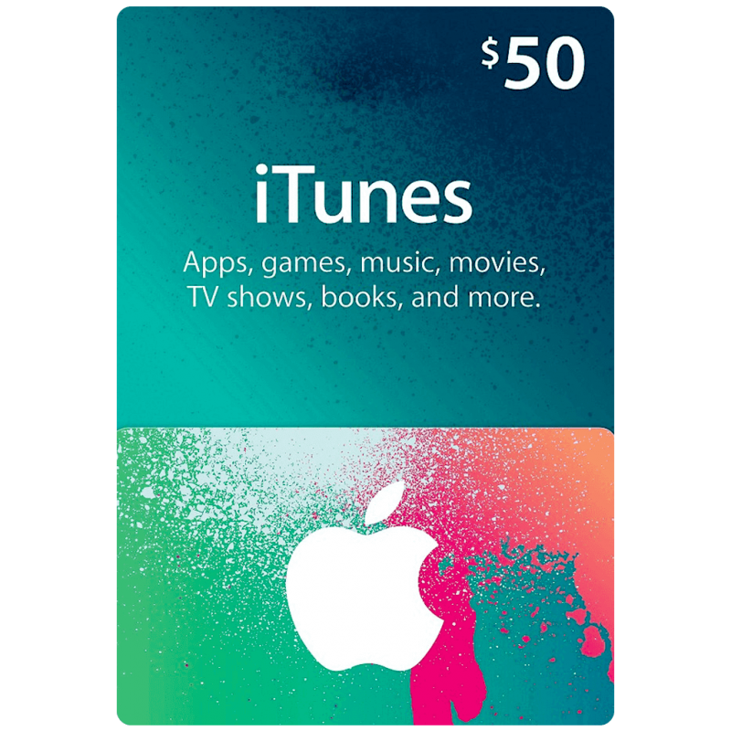 iTunes Gift Cards US 50$ - Gift Cards - gamezone