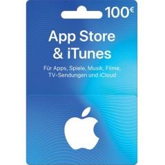 Carte App Store & iTunes de 100€ FR en Tunisie