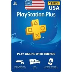 PlayStation Plus: abonnement de 12 mois Compte US en Tunisie