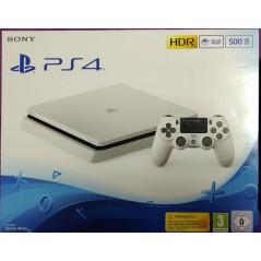 PS4 500 Go Slim blanche en Tunisie
