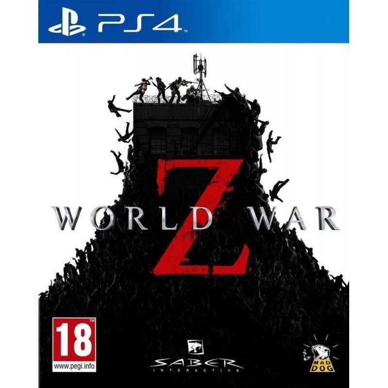 World War Z FR PS4 en Tunisie