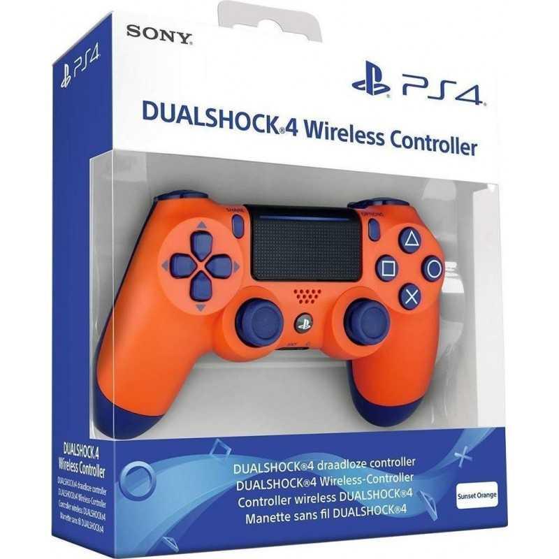 Manette Dual Shock 4 V2 PS4 Sunset Orange en Tunisie