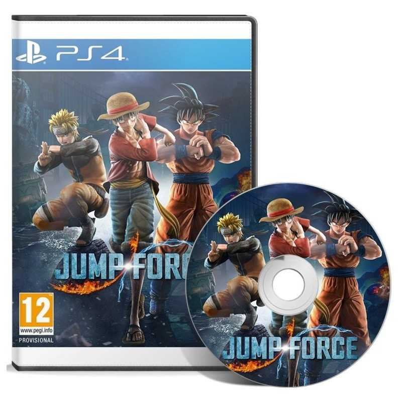 Jump Force PlayStation 4 - JEUX PS4 - gamezone