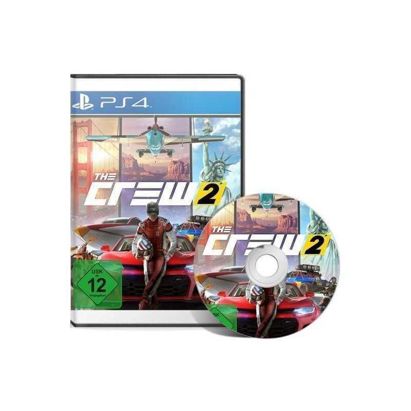 The Crew 2 - JEUX PS4 - gamezone