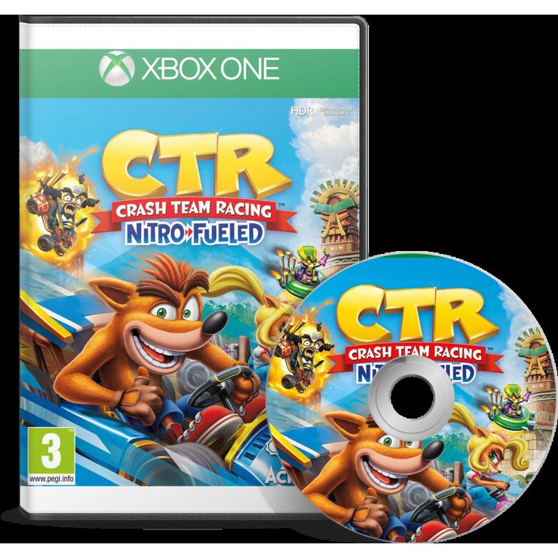 Crash Team Racing Nitro-Fueled Xbox One - JEUX XBOX - gamezone