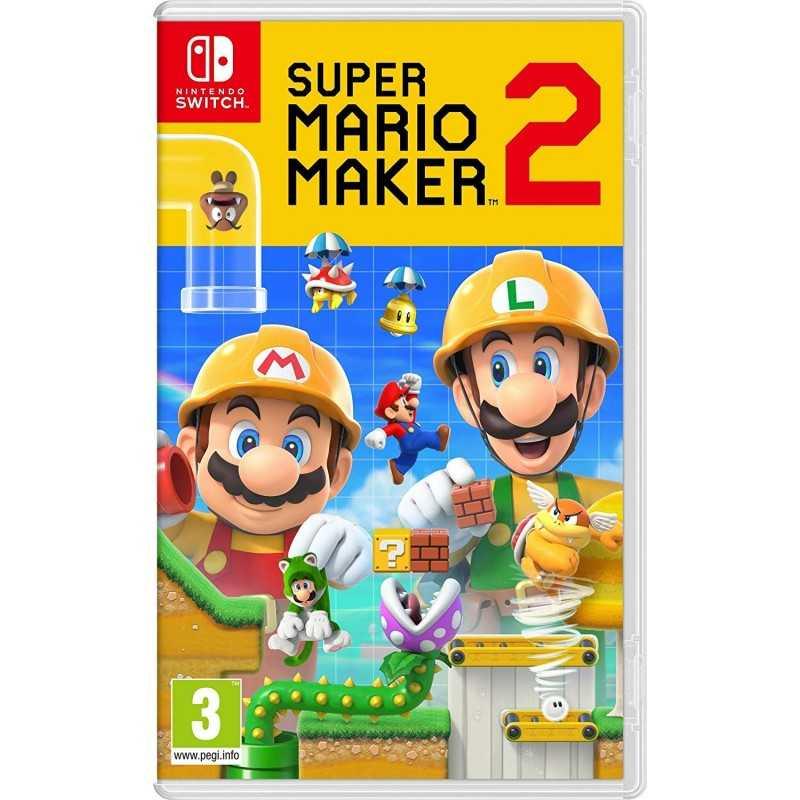 Super Mario Maker 2 - Jeux Switch - gamezone