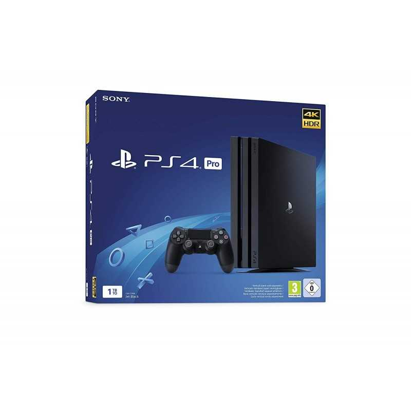 PS4 Pro 1 To - noir - Console - gamezone
