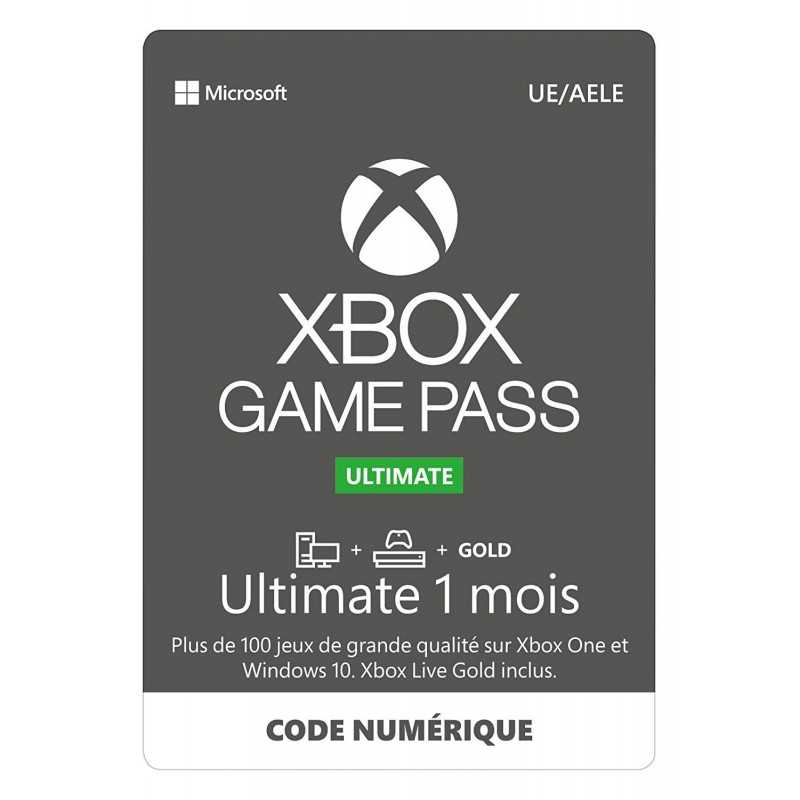 Xbox Game Pass Ultimate 1 Mois en Tunisie