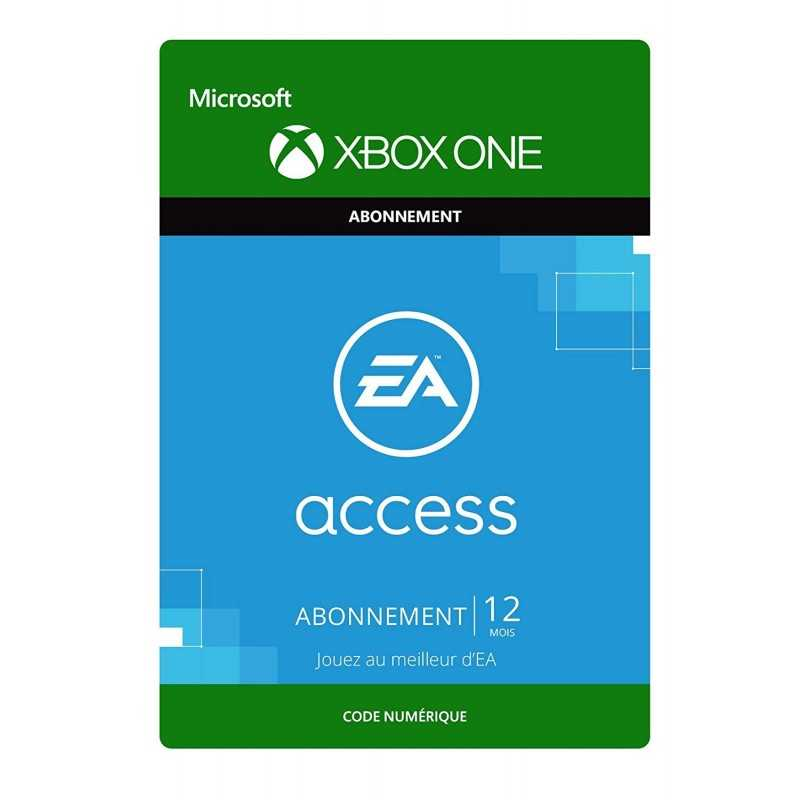 EA Access Pass 12 Mois Xbox One en Tunisie