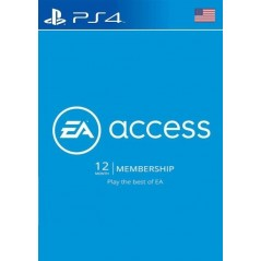 EA Access Pass 12 Mois PS4 (US) en Tunisie