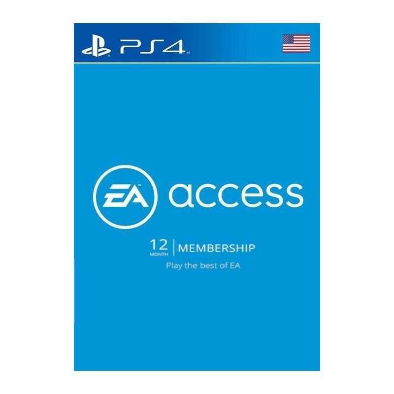 EA Access Pass 12 Mois PS4 (US) - Accueil - gamezone