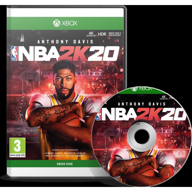 NBA 2K20 Xbox One en Tunisie